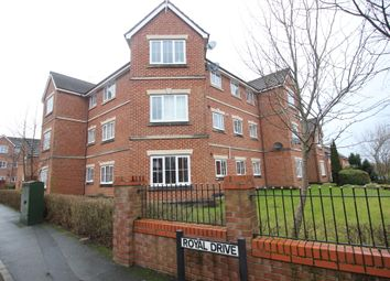Thumbnail 2 bed flat to rent in Royal Drive, Fulwood, Preston