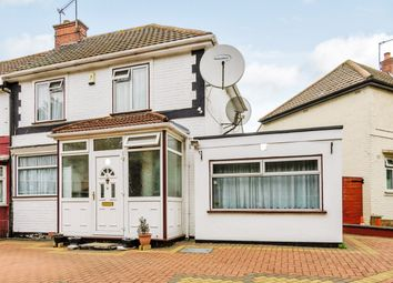 Thumbnail 3 bed semi-detached house for sale in Queensbury Road, Wembley, London