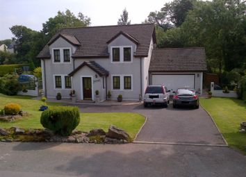 Thumbnail 4 bed detached house for sale in Glenbraighe, Shieldhill Road, Dumfries.