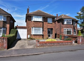 Thumbnail 3 bed detached house for sale in The Crescent, Peterborough