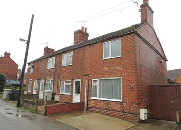Thumbnail 2 bed end terrace house for sale in Newtown, Spilsby