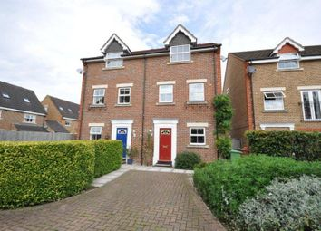 Thumbnail 4 bed town house to rent in Pembroke Avenue, Pinner, Middlesex