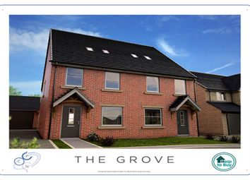 Thumbnail 3 bed semi-detached house for sale in Kings Court, Wombwell, Barnsley