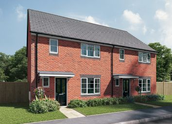 "Thumbnail 3 bed end terrace house for sale in ""The Berkeley"" at Station Approach, Westbury"