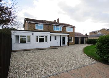 Thumbnail 5 bedroom detached house for sale in East Street, Bluntisham, Huntingdon