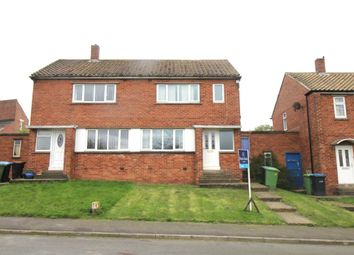 Thumbnail 3 bed semi-detached house to rent in Cuthbert Road, West Cornforth, Ferryhill