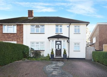 Thumbnail 4 bed semi-detached house for sale in Mead Way, Bushey, Hertfordshire