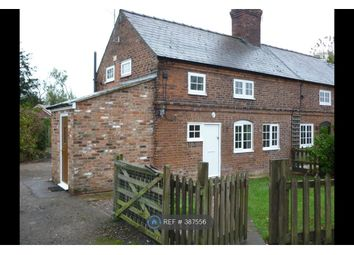 Thumbnail 2 bed semi-detached house to rent in Chapel Lane, Northwich, Cheshire