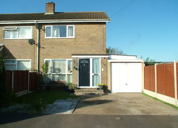 Thumbnail Semi-detached house for sale in St. Michaels Road, Long Stratton, Norwich