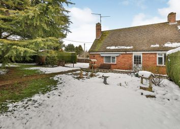 Thumbnail 2 bed semi-detached bungalow for sale in Groveside, East Rudham, King's Lynn