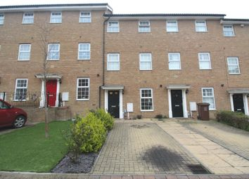 Thumbnail 4 bed terraced house for sale in Sarafand Grove, Medway Gate, Strood, Kent