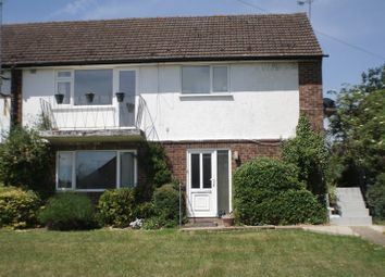 Thumbnail 2 bedroom maisonette to rent in Church Road, Woodley, Reading