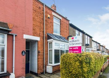 Thumbnail 3 bed terraced house for sale in Huntingtower Road, Grantham