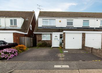 Thumbnail 3 bed semi-detached house for sale in Raphael Drive, Shoeburyness