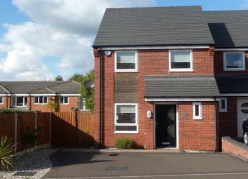 Thumbnail 3 bed semi-detached house to rent in Small Thorn Place, Woodville, Swadlincote