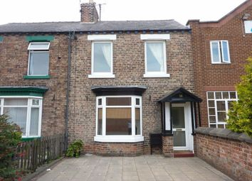 Thumbnail 3 bed terraced house to rent in East Road, Northallerton