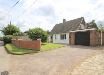 Thumbnail 3 bed detached house for sale in Rockland St. Mary, Norwich