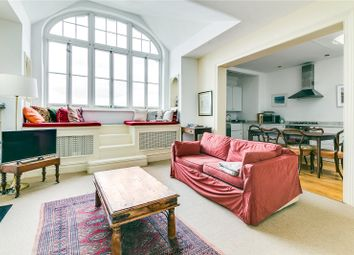 Thumbnail 2 bed flat for sale in Queens Mansions, Brook Green, London