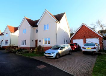 Thumbnail 4 bed detached house for sale in Fullers Close, Hadleigh, Ipswich, Suffolk