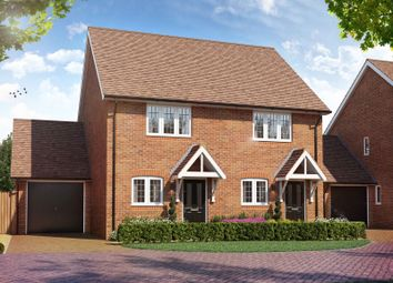 Thumbnail 2 bed semi-detached house for sale in Bell Lane, Birdham, Chichester