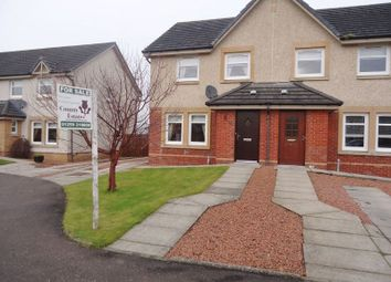 Thumbnail 3 bed semi-detached house for sale in Alexander Mcleod Place, Fallin, Stirling