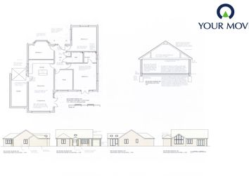 Thumbnail 3 bed bungalow for sale in Silvester Road, Cowplain, Waterlooville