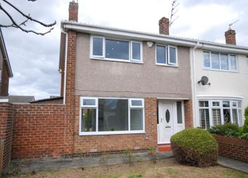 Thumbnail 3 bed semi-detached house for sale in Highgate Gardens, Jarrow