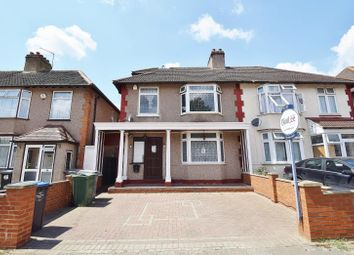 Thumbnail 4 bedroom semi-detached house to rent in Woodfield Avenue, Wembley, Middlesex