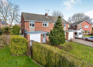 Thumbnail 3 bedroom semi-detached house for sale in Riversdene, Stokesley, North Yorkshire, United Kingdom