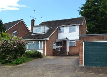 Thumbnail 4 bedroom detached house for sale in Sherwood Avenue, Walderslade, Chatham