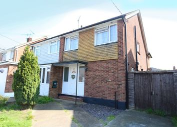 Thumbnail 3 bed semi-detached house for sale in Stanley Road, Benfleet