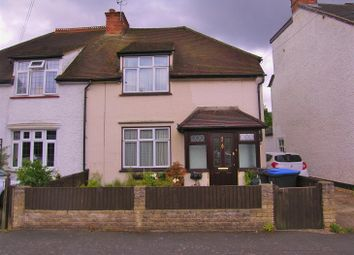 Thumbnail 3 bed semi-detached house for sale in Highclere Road, Knaphill, Woking