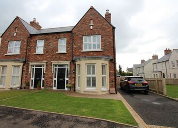 Thumbnail 3 bed semi-detached house for sale in Hartley Hall Crescent, Greenisland, Carrickfergus