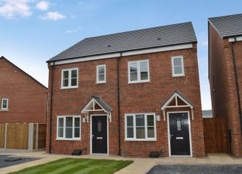 Thumbnail 2 bed semi-detached house to rent in Brick Kiln Bank, Lightmoor, Telford