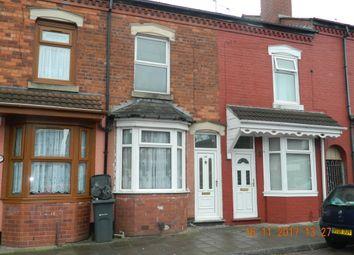 Thumbnail 2 bed terraced house to rent in Reginald Road, Alum Rock, Birmingham