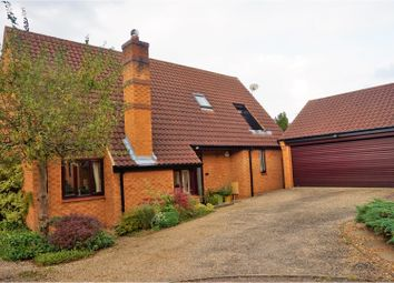 Thumbnail 4 bed detached house for sale in Vetchfield, Peterborough