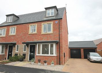 Thumbnail 4 bedroom semi-detached house for sale in Rowthorne Close, Marina Gardens, Northampton
