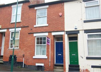 Thumbnail 2 bed terraced house for sale in Rossington Road, Sneinton