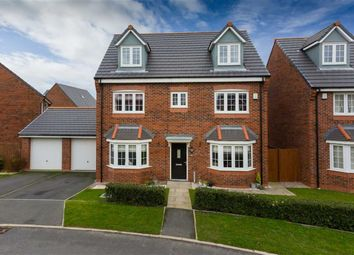 Thumbnail 5 bedroom detached house for sale in Wesham Park Drive, Wesham, Preston