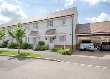 Thumbnail 3 bedroom end terrace house for sale in Clappers Lane, Watton At Stone, Hertford