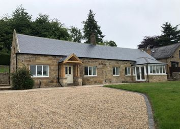 Thumbnail 3 bed detached bungalow to rent in Eglingham, Alnwick, Northumberland