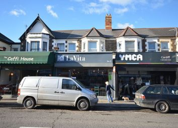Thumbnail 2 bedroom flat to rent in Wellfield Road, Roath, Cardiff
