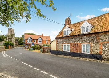 Thumbnail 3 bedroom property for sale in The Street, Weybourne, Holt