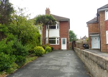 Thumbnail 3 bed semi-detached house for sale in Glenville Road, Bournemouth