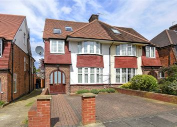 Thumbnail 4 bed semi-detached house for sale in Bruton Way, Ealing