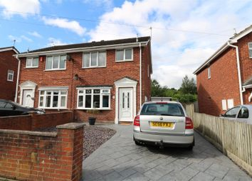 Thumbnail 3 bed semi-detached house for sale in Dunsford Avenue, Milton, Stoke-On-Trent