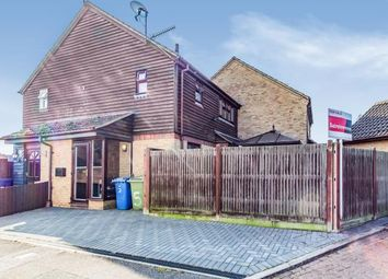 Thumbnail 1 bed end terrace house for sale in Edyngham Close, Kemsley, Sittingbourne