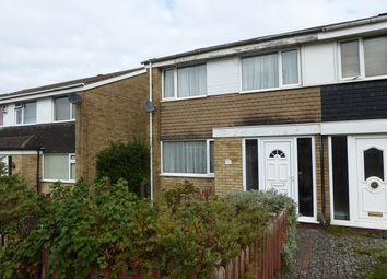 Thumbnail 3 bedroom end terrace house for sale in Longlands Close, Birmingham