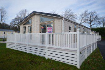 Thumbnail 3 bedroom lodge for sale in Dawlish Warren, Dawlish