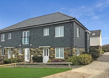Thumbnail 3 bed end terrace house to rent in Oxley Vale, Newquay
